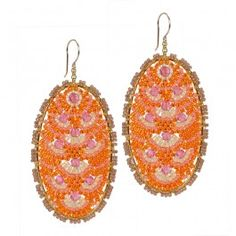 Sunshine Drop Earrings $225 Miguel Ases