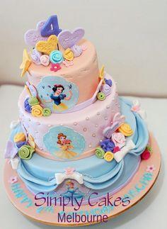 Simply Cakes Melbourne: Disney princess Cake