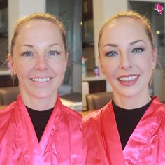 #MakeoverMondays lookin' beautiful with a #beforeandafter of birthday girl Jessie rocking a natural, matte, yet ever so elegant #makeuplook for her night on the town  #makeovermagic by Kay of #kayanabeauty #kayanabeautytrends