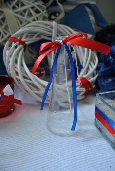 sailor's wedding blue red white mwesolowska decor