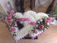 Funeral Flowers Pillows