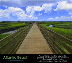 Humbly Serving Christ posted a photo:  This is the view looking west across the wetlands of the Intracoastal Waterway that separate Atlantic Beach, on a barrier island, from Jacksonville, on the mainland.  ABOUT JACKSONVILLE & ITS BEACHES:  I am a native