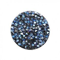 Crystal rock Moonlight noir - Swarovski  Site vente d'accessoires pour création de bijoux fantaisie  www.calypsobijoux.com