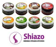 Chicha Pierres Narguilé 100G Shiazo Shisha Steam Stones 18 Parfums | eBay