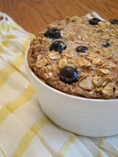 Blueberry Trail Mix Baked Oatmeal