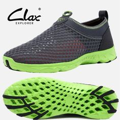 Clax 2016 Summer Casual Shoes Men Women Walking Shoe Super Light Breathable Mesh Beach Water Shoes Unisex Trainer Fashion - The Big Boy Store
