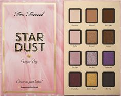 Too Faced Stardust by Vegas Nay Eyeshadow Palette