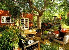 Natural Tropical Backyard Garden Ideas ~ Backyard Gardening On A Budget:  Natural, Backyard Gardening On A Budget, Ideas, Garden, , Tropical, Backyard