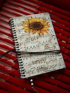 Decopage  Cuaderno de viajes