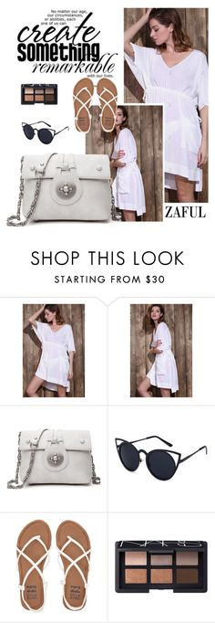 """Zaful 25"" by sabinakopic ❤ liked on Polyvore featuring Billabong, NARS Cosmetics, bestylish, zaful and lovezaful"