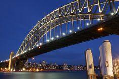 Sydney habour bridge by night. She always looks good. Night Photos, Sydney Harbour Bridge, Australia, Places, Photography, Travel, Photograph, Viajes, Fotografie