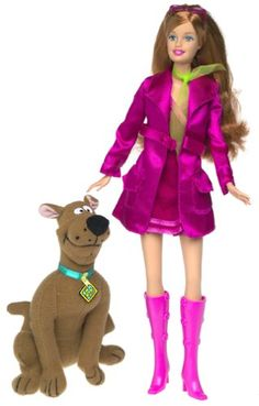 Barbie as Daphne from Scooby Doo Barbie doll Barbie http://www.amazon.com/dp/B00005V4NN/ref=cm_sw_r_pi_dp_74Ddxb0EX9MXX