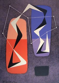 MID-CENTURIA : Art, Design and Decor from the Mid-Century and beyond: Ger Gerrits Paintings