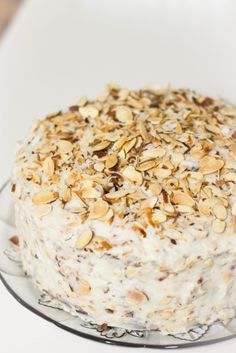 Coconut Almond Cream Cheese Frosting : Kendra's Treats