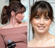 "Ana de Armas und ihre Premiere ""Beauty-Looks"" - - Ana de Armas und ihre Premiere ""Beauty-Looks"" - Peinados Ana de Armas y sus 'beauty looks' de estreno Ana de Armas und ihre Premiere ""Beauty-Looks"" Curly Hair Styles, Medium Hair Styles, Short Hair Cuts For Women, Bob Hairstyles, Bangs Hairstyle, Long Hairstyles With Bangs, Hair Dos, New Hair, Hair Inspiration"
