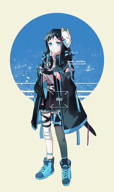 Read Kimetsu No Yaiba / Demon slayer full Manga chapters in English online! Anime Chibi, Chica Anime Manga, Fanarts Anime, Otaku Anime, Manga Girl, Anime Art, Anime Angel, Anime Demon, Demon Slayer