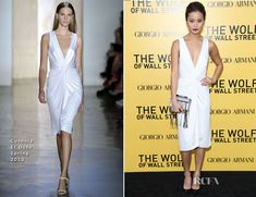 Jamie Chung In Cushnie Et Ochs – 'The Wolf Of Wall Street' New York Premiere  #fashion #RedCarpet #Celebrity