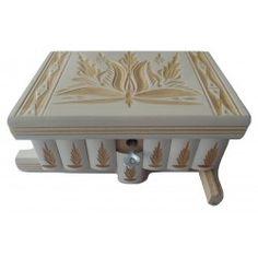 Palapeli laatikko Puzzles, Magic Secrets, Puzzle Box, Decorative Boxes, Season 1, White Wood, White People, Jewellery Box, Wooden Crates