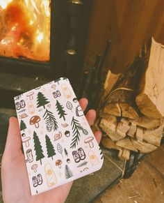 This is my first pocket notebook release in maaaaaany years, and I am so here for it. This little cutie even has a water-resistant cover to help protect your deep forest thoughts while out trekking! 🖋 Forest Adventure, Pocket Notebook, Deep Forest, Wood Ornaments, Greatest Adventure, Constellations, Letterpress, Trekking, Note Cards