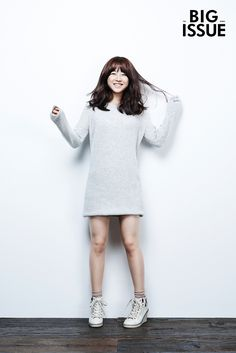 Yesterday was the 13th annual No Pants Subway Ride, and with her pantless look in the 76th issue of The Big Issue, Park Bo Young would have fit right in with NYC commuters. ;) Her legs aren't…
