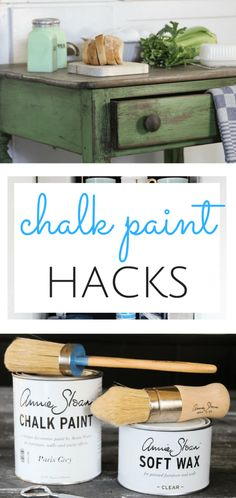 Don't miss these chalk paint hacks! DIY Home, Home Projects, DIY Projects, Home DIY, DIY Home Decor #ChalkPaint #ChalkPaintDIY #DIYHomeDecor
