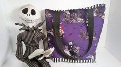 Trick or Treat Bag Jack Skellington Pumpkin King Nightmare Before Christmas Candy Sack  Child Gift Halloween Night Treat Bag Child Birthday