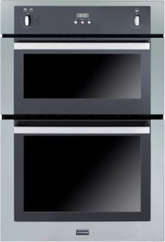 Buy Stoves Gas Built Under Double Oven - Stainless Steel 444440830 from Appliances Direct - the UK's leading online appliance specialist Built Under Double Oven, Gas Double Oven, Cool Kitchen Gadgets, Cool Kitchens, Built In Gas Ovens, Stainless Steel Stove, Kitchen Shop, Electric Oven