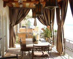 Оформление веранды в загородном доме + фото