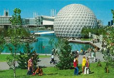 """Ontario Place, Toronto waterfront I remember seeing """"North Of Lake Superior"""" in the summer of It was frightening. Expo 67 Montreal, Montreal Canada, Great Places, Beautiful Places, Ontario Place, Toronto Ontario Canada, Toronto City, Lounge, Canadian History"""