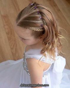 65 young girls braid hairstyles mother could for her prince .- 65 young girls braid hairstyles mother could try for her princess – Page 28 of 32 – Beautrends – - Young Girls Hairstyles, Girls Hairdos, Cute Little Girl Hairstyles, Kids Braided Hairstyles, Princess Hairstyles, Flower Girl Hairstyles, Girl Haircuts, Hairstyles For Children, Short Hairstyles