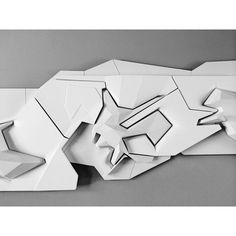 Abstract Sculpture, Sculpture Art, Graffiti Characters, Arch Model, Abstract Geometric Art, Contemporary Sculpture, Concept Architecture, Textures Patterns, Geometry