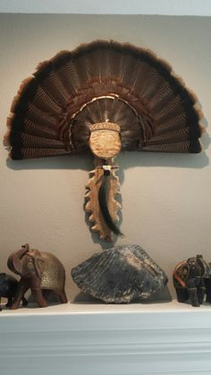 beard, fan, and spurs. Carved acorn and oak leave plaque. Turkey Mounts, Acorn And Oak, Outdoor Life, Taxidermy, Hand Fan, Mountain, Carving, Leaves, Diy