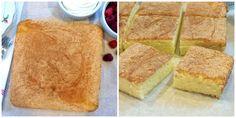 Hot Milk Sponge Cake Collage