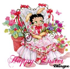 Happy Easter Betty Boop