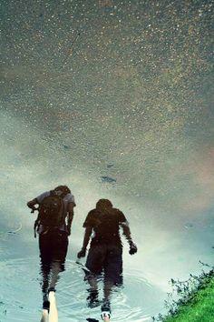 Love walking in the rain