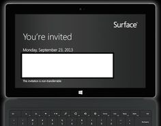 Next-gen #Microsoft #Surface announcement expected on Sept. 23