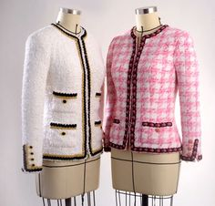 Learn the secrets of making a classic French jacket or Chanel jacket from Susan Khalje
