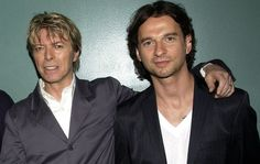 Depeche Mode's Dave Gahan with  David Bowie.