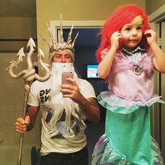 So cute for a father daughter costume