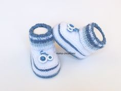 Crochet Shoes Pattern, Crochet Baby Shoes, Shoe Pattern, Knit Baby Booties, Baby Boots, Crochet Tablecloth, Baby Patterns, Baby Knitting, Etsy