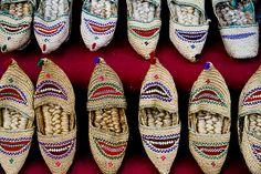 nepalese wicker shoes