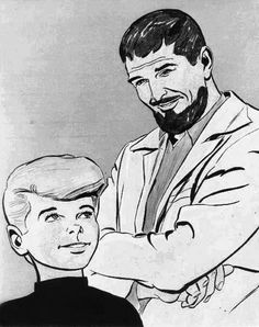 Jonny Quest e seu pai, o Dr. Benton Quest - and his father                                                                                                                                                                                 More