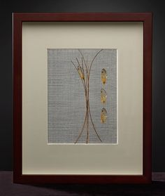 Vicki Essig  Pine and Cicada  2011  Handwoven Silk, Horse Hair, Pine Needles and Cicada Wings