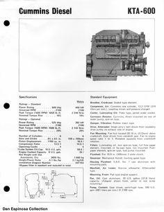44 best cummins engines images on pinterest cummins diesel engines cummins kta 600 asfbconference2016 Gallery