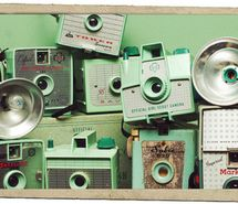 Our cameras weren't green--but definitely of this era