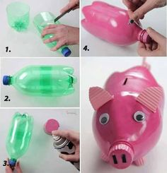 We are starting to save our spare change again but instead of buying a money box we've looked at ideas for how we can create a DIY Money Box to save our coins!