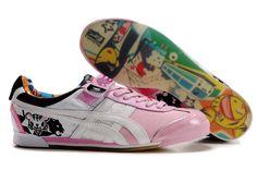 50a3035162 Onitsuka Tiger Womens Tokidoki Black White Pink