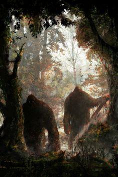 bigfoot/sasquatch Blouses and Tops woman puerto rico shirt Bigfoot Toys, Yeti Bigfoot, Bigfoot Sasquatch, Bigfoot Party, Fantasy Creatures, Mythical Creatures, Cthulhu, Bigfoot Pictures, Finding Bigfoot