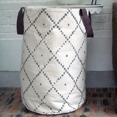 Panier de rangement en coton sable avec poignée Nomad ArtforKids