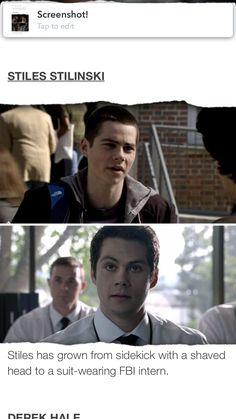 Tw. Aweee i'm so proud of Stiles <3